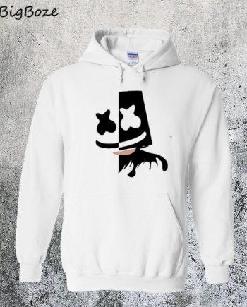 Black and White Marshmello Hoodie