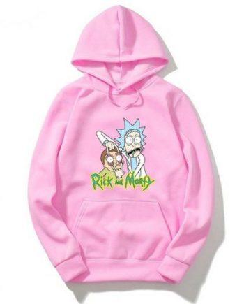 Rick and Morty Geek Hoodie