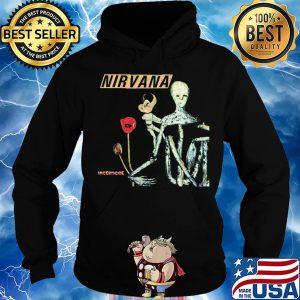 Official Nirvana incesticide flower shirt