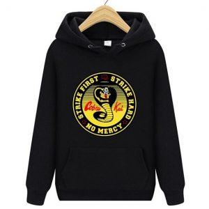 Kobe Bryant Cobra Kai Hoodie in Black