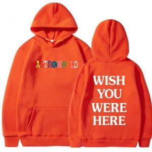 TRAVIS SCOTT ASTROWORLD WISH YOU WERE HERE HOODIES FASHION