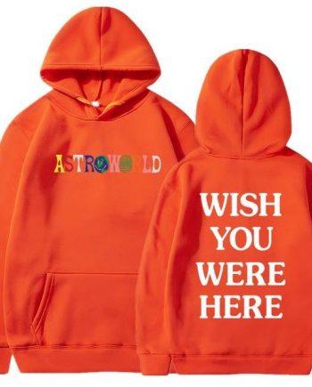 Astroworld Wish You Were Here Fashion Hoodie
