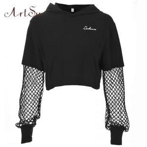 Black Artsu Long sleeves Hoodie