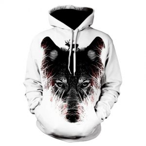 3d printing Pullover animal Graphics hoodie