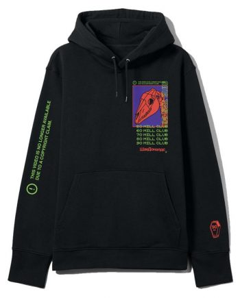 To The Ranch Black and Red PewDiePie Hoodie