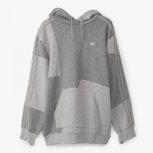 Adidas Grey Hoodie for Men's and Woman(front)