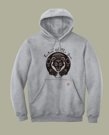 Fortress Of The Bear Carhartt Adult Hoodie(front)