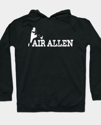 Air Allen Buffalo Bills Black Hoodie