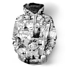 Azuki Cartoon All Over Printed Anime Pullover Hoodie(front)