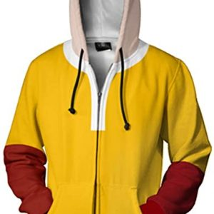 Aoibox Anime One Punch Man Hoodie