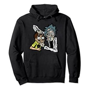 Rick and Morty black Hoodie
