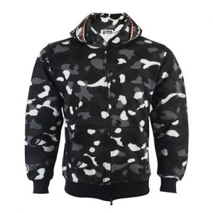 Bape Glow In The Dark Full Zip Hoodie