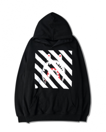 BAPE Off-White Supreme Palace Hoodie (front)