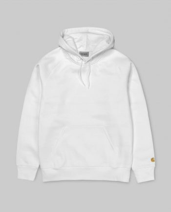 CARHARTT WIP Chase Pullover Hoodie (White)