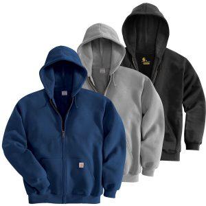 Carhartt Zip Front Hoodies