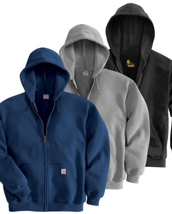 Carhartt Men's Midweight Zip Front Hoodies