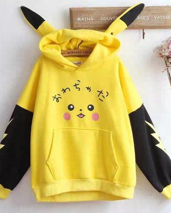 New Arrival Cute Pikachu Hoodie