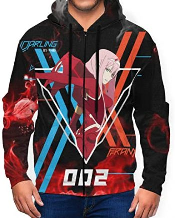 Darling in the Franxx Anime Pullover Hoodie