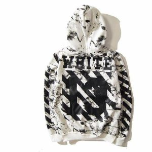 Fear Off White Hoodies