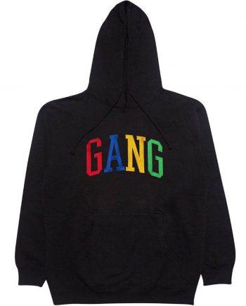 Gang Gildan Black Rainbow Hoodie