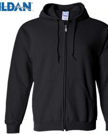 Gildan Men's Cardigan Zip-up Hoodie