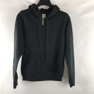 Gildan men's Black Zip hoodie