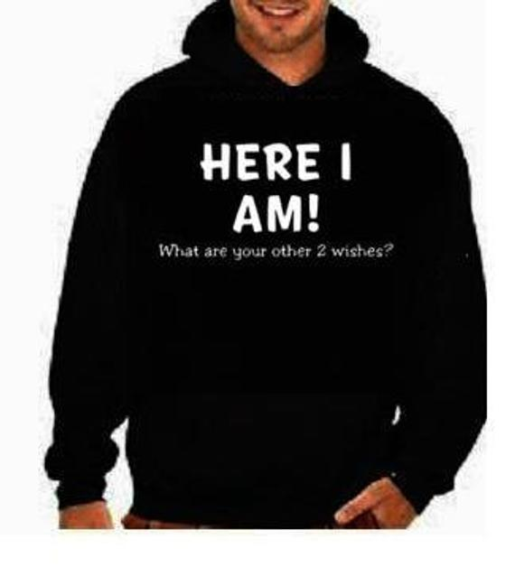 Here I am funny cool black hoodies Funniest