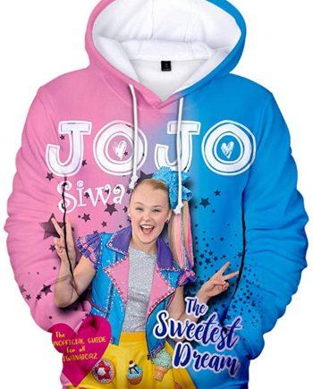 Jojo 3D Printed Casual Hoodie