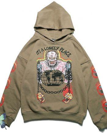 Kanye West Kids See Ghosts Foam Printed Hoodie