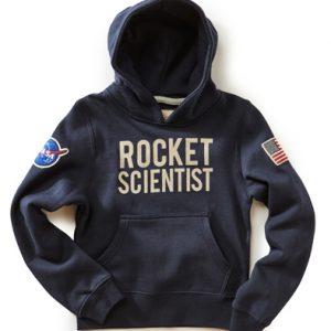 Kids NASA Rocket Scientist Hoodie