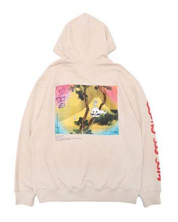 Ghost Hoodie Kanye West Pullover Ivory Hoodies
