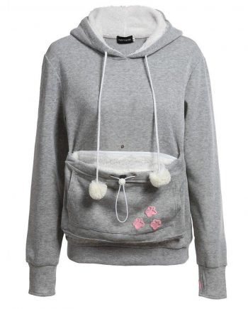 Kitty Roo Pouch Casual Hoodie