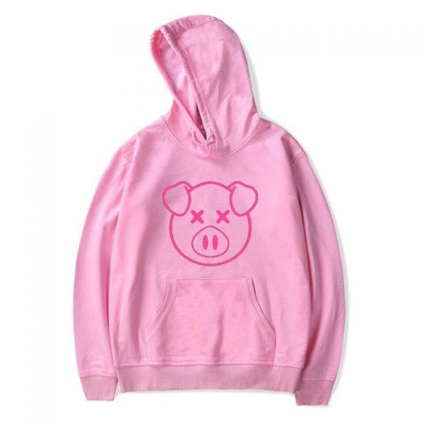 Lovely Shane Dawson Pink Pig Women Pink Hoodie