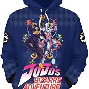 Men Women Teens JoJo's Bizarre Adventure Hoodie