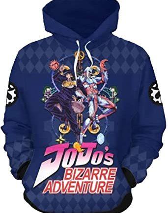 Teens JoJo's Bizarre Adventure Hoodie