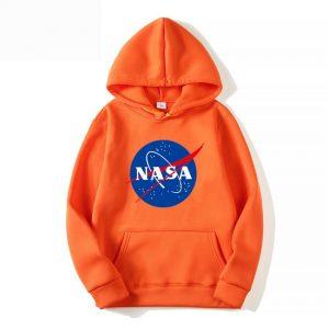 NASA Print Fashion Hoodie