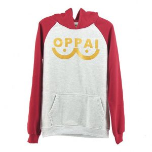 NEW Anime One Punch man Saitama Oppai Hoodie