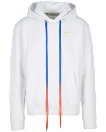 OFF-WHITE Acrylic Arrows Hoodie For Men's