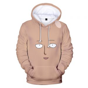 One Punch Man Cute Face Hoodie