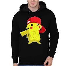 Pikachu Black Hoodie