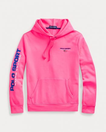 Polo Sports Pullover Pink Hoodies