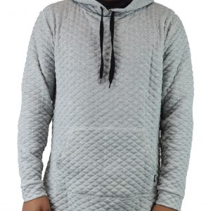 Quilted Blanket Pullover Hoodies