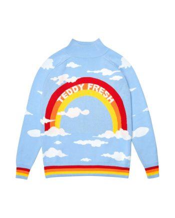 Rainbow Teddy Fresh Hoodie