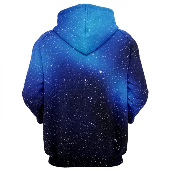 Fresh Hoodies Stars are Cool blue and black Hoodie