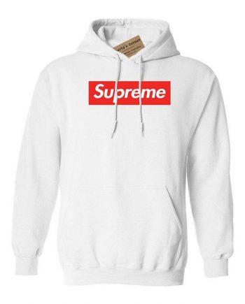 Supreme Box Logo Casual Hoodie