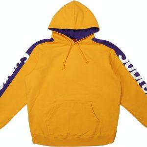 Supreme Sideline Hooded Sweatshirt Gold