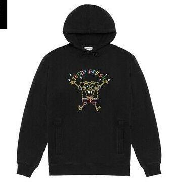 Teddy Fresh x SpongeBob Embroidered Hoodie