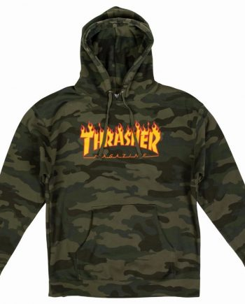 Thrasher Flame Men's Hoodie