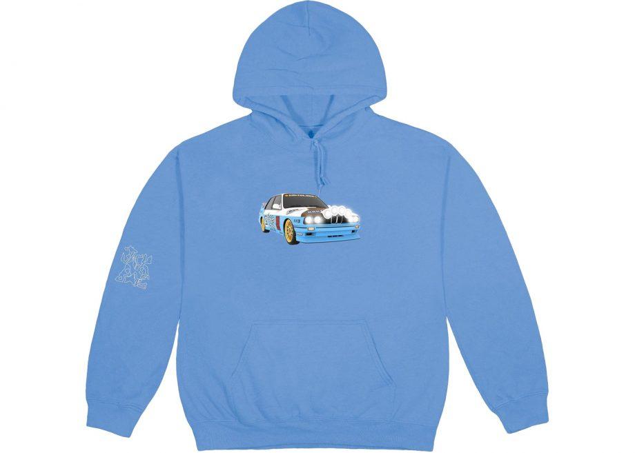 Travis Scott JACKBOYS Vehicle Blue Hoodies(front)