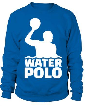 Water Polo Sport Blue Hoodie